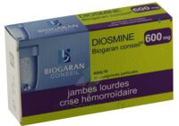 DIOSMINE BIOGARAN CONSEIL 600 mg, comprimé pelliculé à PARIS