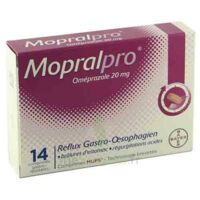 MOPRALPRO 20 mg Cpr gastro-rés Film/14 à PARIS