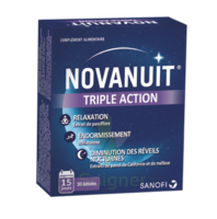NOVANUIT Triple action Gélules B/30 à PARIS