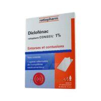 DICLOFENAC RATIOPHARM CONSEIL 1 %, emplâtre médicamenteux à PARIS