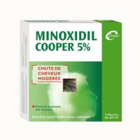 MINOXIDIL COOPER 5 %, solution pour application cutanée à PARIS