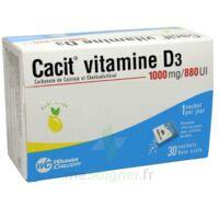 CACIT VITAMINE D3 1000 mg/880 UI, granulés effervescents pour solution buvable en sachet à PARIS