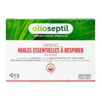 OLIOSEPTIL - Capsules Huiles essentielles à respirer - Nez dégagé à PARIS