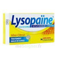LYSOPAÏNE MAUX DE GORGE CETYLPYRIDINIUM LYSOZYME MIEL CITRON SANS SUCRE, comprimé à sucer édulcoré au sorbitol et à la saccharine à PARIS