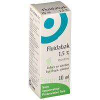 FLUIDABAK 1,5 %, collyre en solution à PARIS