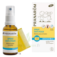 PRANAROM AROMAPOUX BIO Spray anti-poux+peigne à PARIS