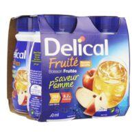 DELICAL BOISSON FRUITEE Nutriment pomme 4Bouteilles/200ml à PARIS