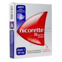 NICORETTESKIN 25 mg/16 heures, dispositif transdermique B/28 à PARIS