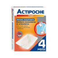 Actipoche Patch chauffant douleurs musculaires B/4 à PARIS